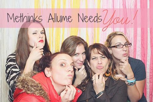 allume needs you