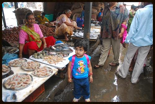 Marziya Shakir At Bandra Bazar Fish Market by firoze shakir photographerno1