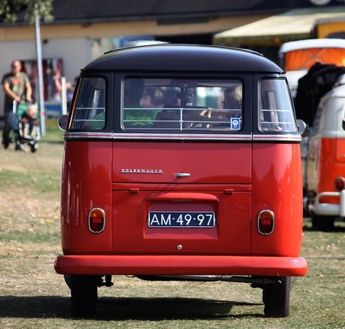 AM-49-97 Volkswagen Transporter Samba 23raams 1963
