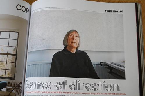 Margaret Calvert in Wallpaper*
