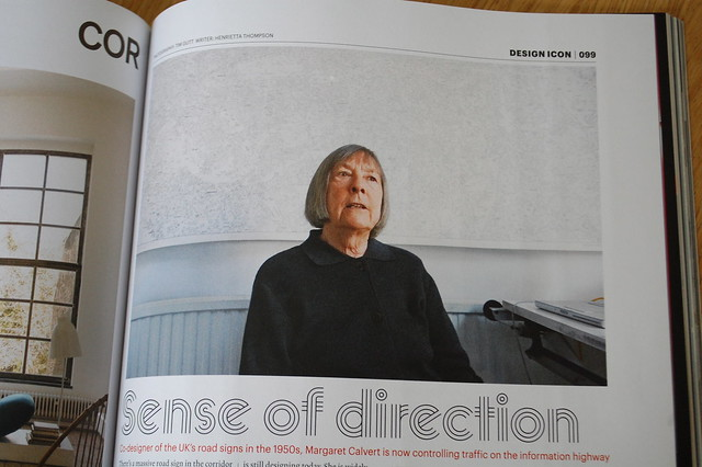 Margaret Calvert in Wallpaper*