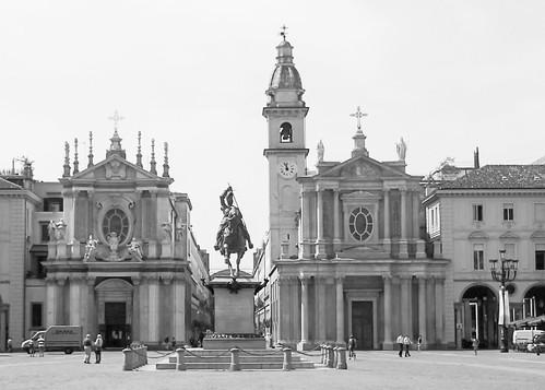 San Carlo Royal Square Turin Italy