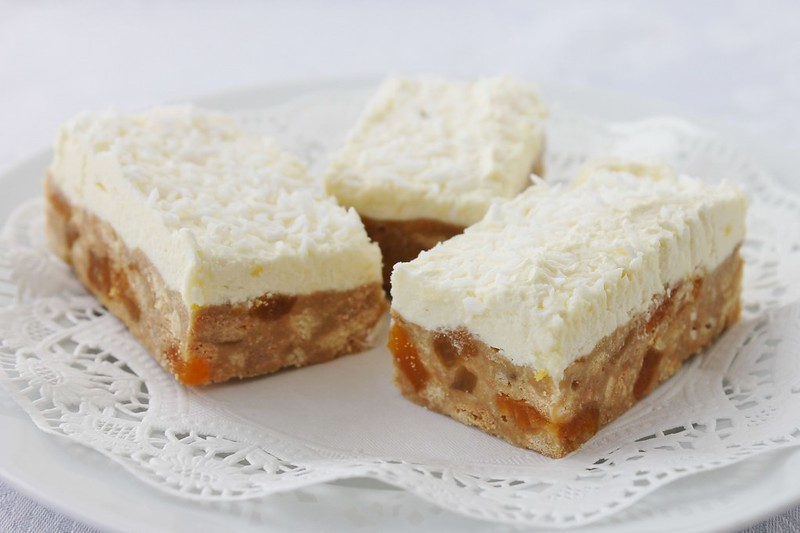Apricot Fudge Slice