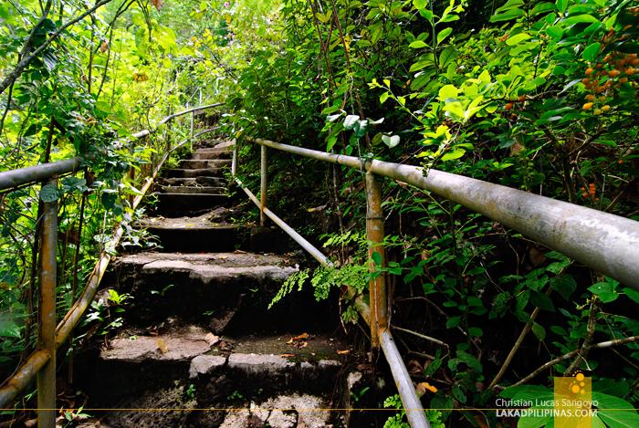 Nature Trail at Iligan's NPC Nature's Park