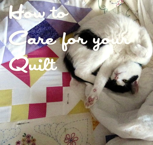 It is important to relax on your quilts as often as possible.
