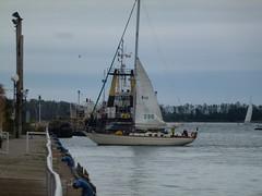 Big tugboat moored in the Eastern Gap, 2013 10 05 (1)
