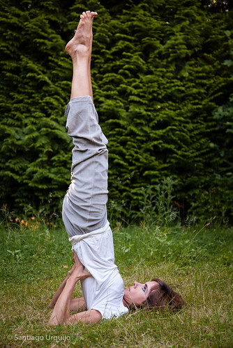 Shoulderstand Pose