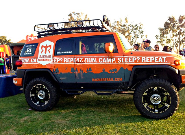 Ragnar Relay FJ Cruiser