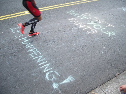 Kona 2013 chalk message
