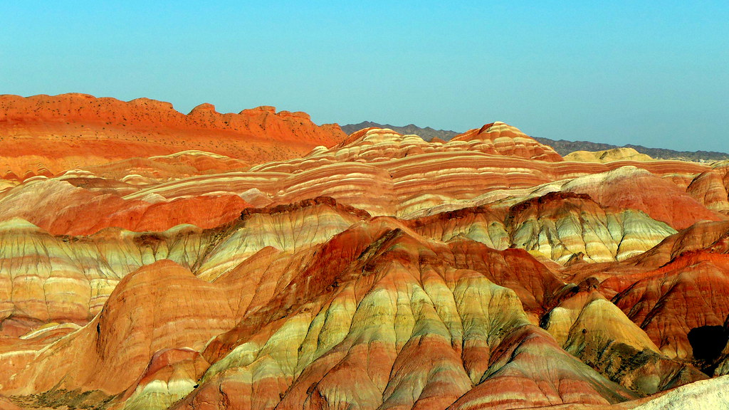 Zhangye Danxia Landform, Gansu, China