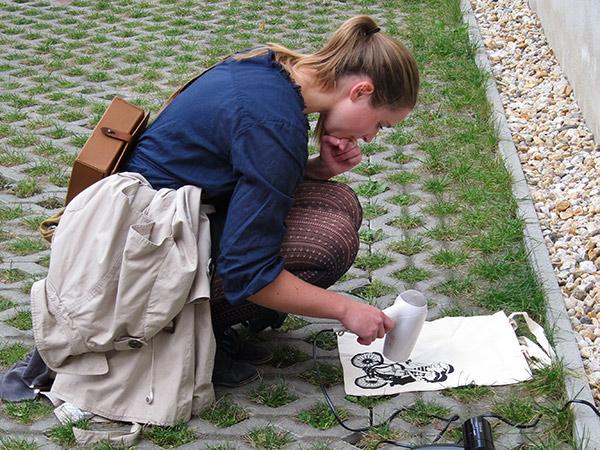 Siebdruckkurs in Leipzig