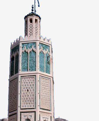 La grande mosquée d'Ouazzane