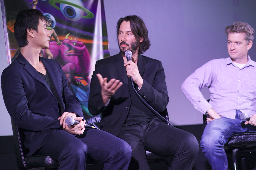 "Keanu Reeves & Tiger Chen ""Man of Tai Chi"" Q&A, Fantastic Fest"