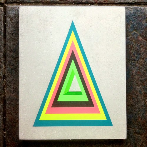 Pyramid hpm #2 (concentric) by Carl Cashman