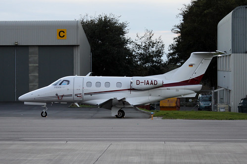 D-IAAD Embraer EMB-500 Phenom 100 by Guernsey Airport Photography