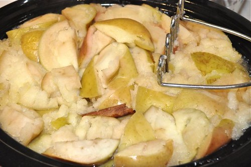 apple sauce in the slow cooker 15