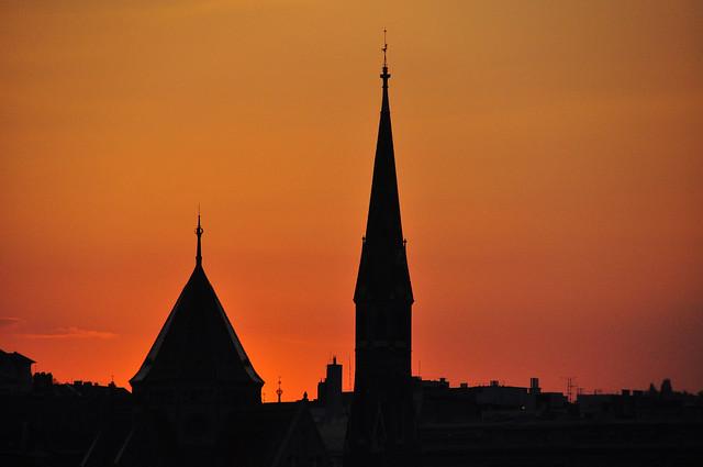 BudapestSunsetSillhoutte