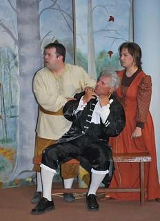 Γιατρός με το στανιό θεατρική παράσταση  Προοδευτικός Σύλλογος Λυγουριού Καββαδίας 5