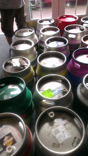 Beer Festival Casks