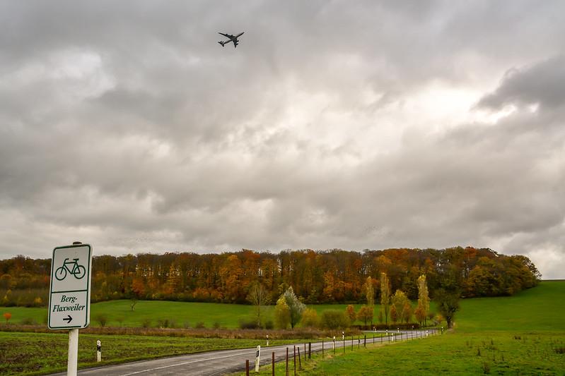 Plane to Flaxweiler