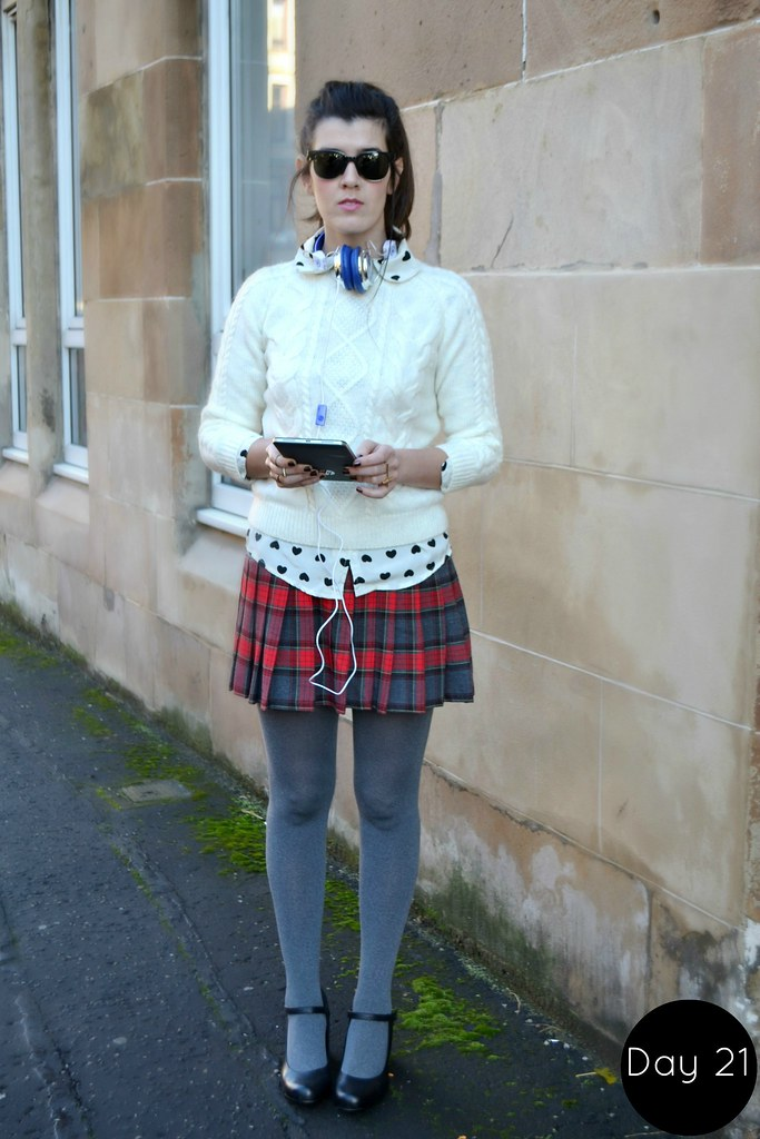 Tartan and grey