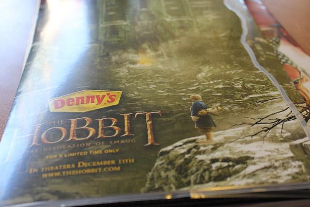 #MiddleEarthDiner Hobbit Menu at Denny's