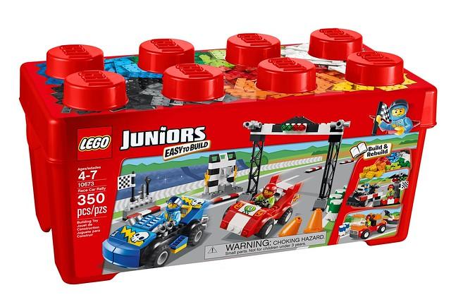 LEGO Juniors 10673 - Race Car Rally