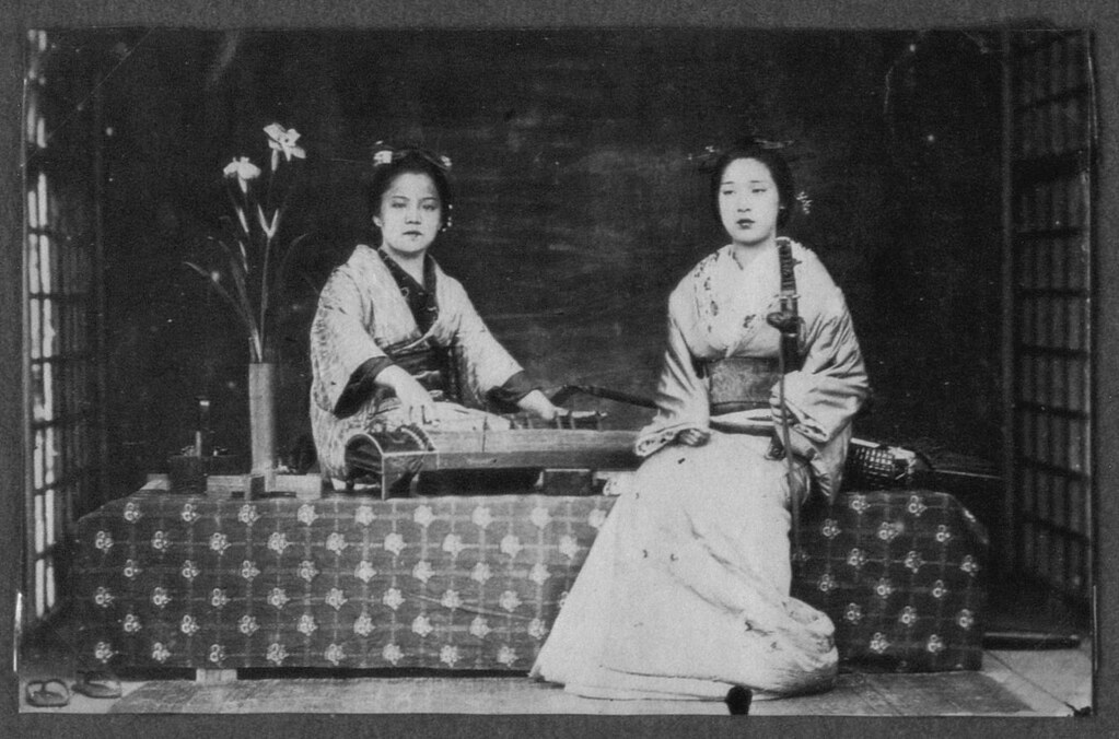 Two female singers, Japan.