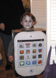 iPod costume, front