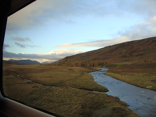 Highlands through the window