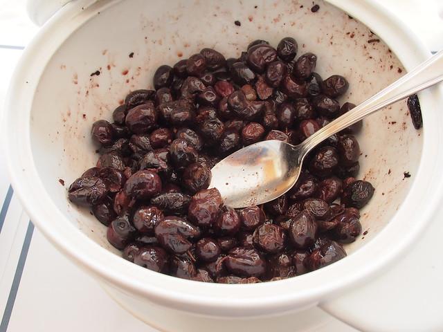 今日早餐-醃橄欖