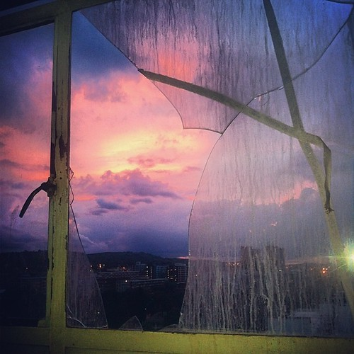 Home renovation views. #pretoria #sunset