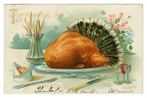 021-Thanksgiving Day old card- NYPL Digital Gallery