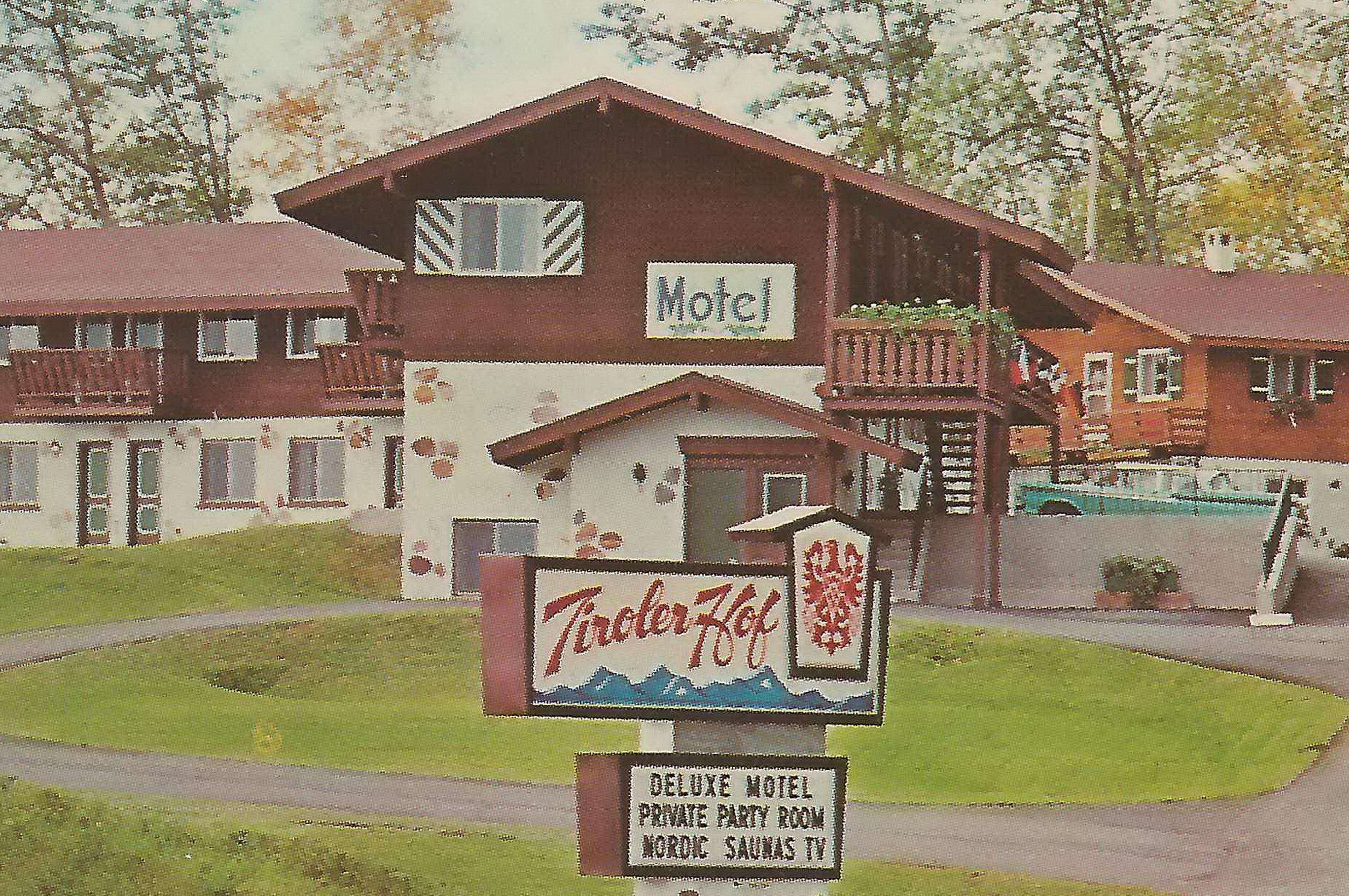 up marquette mi 1950s the modern tiroler hof motel austria flickr photo sharing. Black Bedroom Furniture Sets. Home Design Ideas