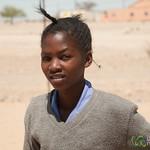 Namibian School Girl - Spitzkoppe School, Namibia