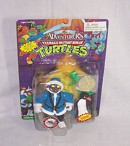 'ADVENTURERS' TEENAGE MUTANT NINJA TURTLES :: ARTIC DONATELLO // ..on card iv  (( 1995 ))  [[ Courtesy of qltardes ]]