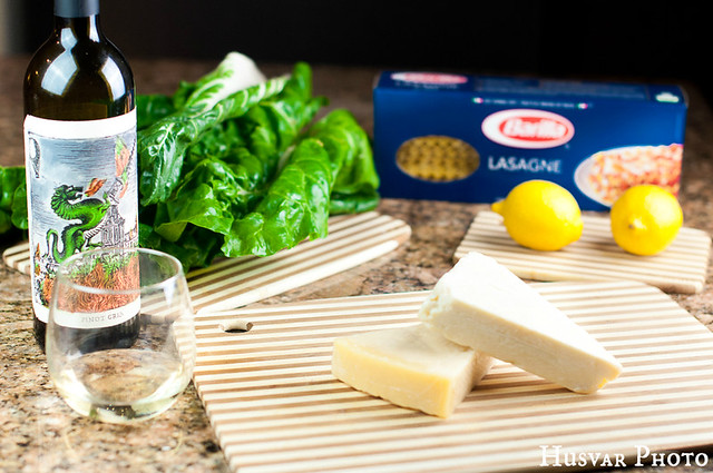 chard and lemon meatless lasagna in_the_know_mom