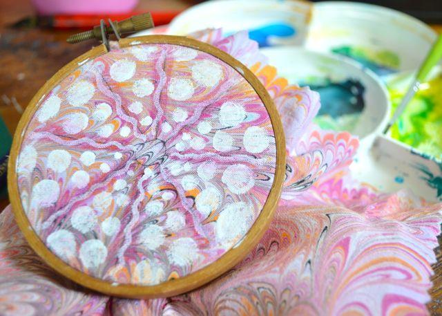 painting urchin
