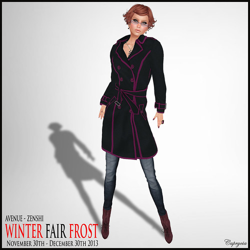 Legal Insanity Taylor + Chic Trench - Winter Fair Frost - Zenshi by ♥Caprycia♥