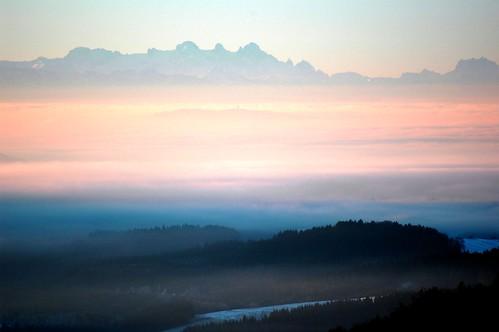 Sonnenaufgang in Hötzelsberg