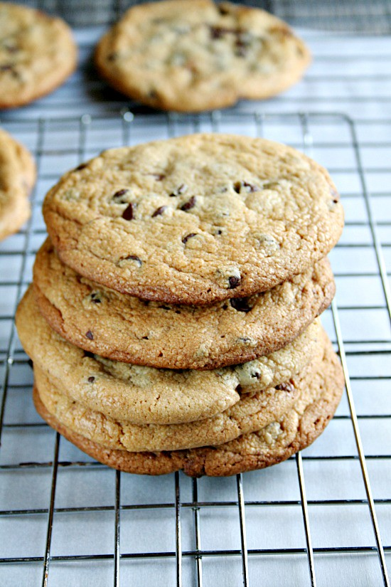 chocolate chip peanut butter cup stuffed cookies