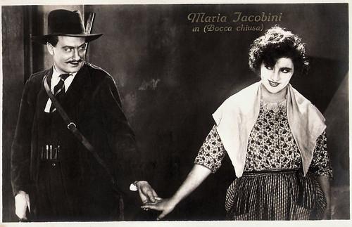 Maria Jacobini in La bocca chiusa