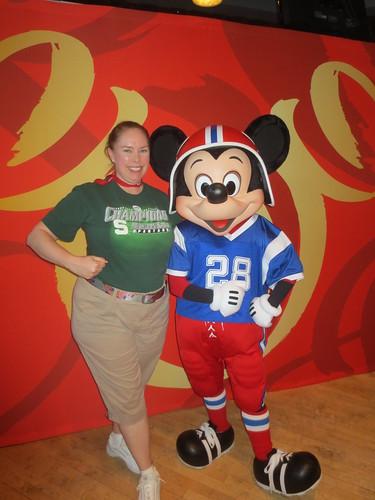 Me & football Mickey