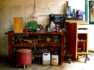 Untidy Workbench