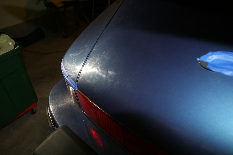 porsche paint correction