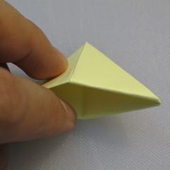 การพับกระดาษเป็นรูปเรือใบ (Origami Boat – 船の折り紙) 009