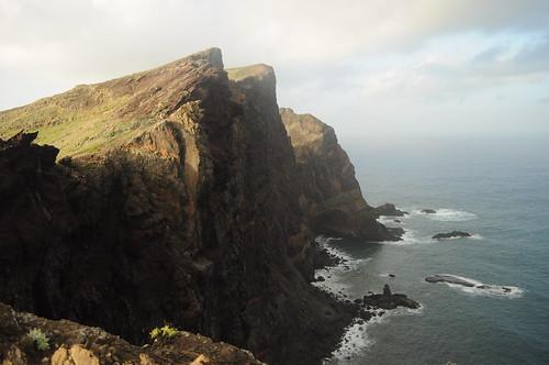 Cliffs at Ponta de São Lourenço