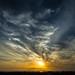 late sun over fogo island