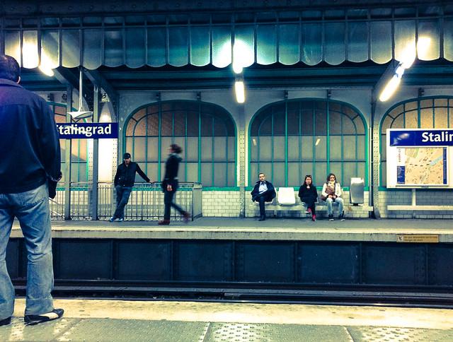 Paris Metro Stalingrad