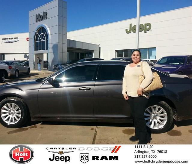 Thank You To Toni Nomura On Your New 2014 #Chrysler #300